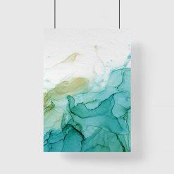 plakat farby wodne
