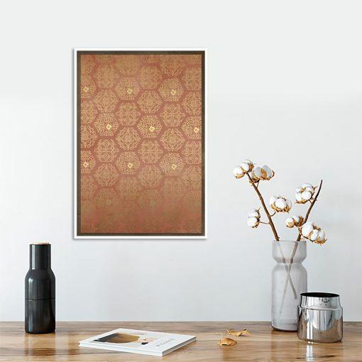 plakat brązowy marokański