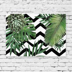 obraz tropikalne kompozycje