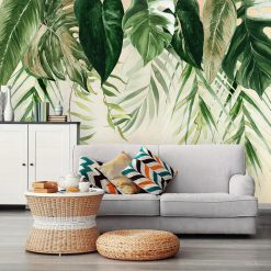 fototapeta z motywem palmy