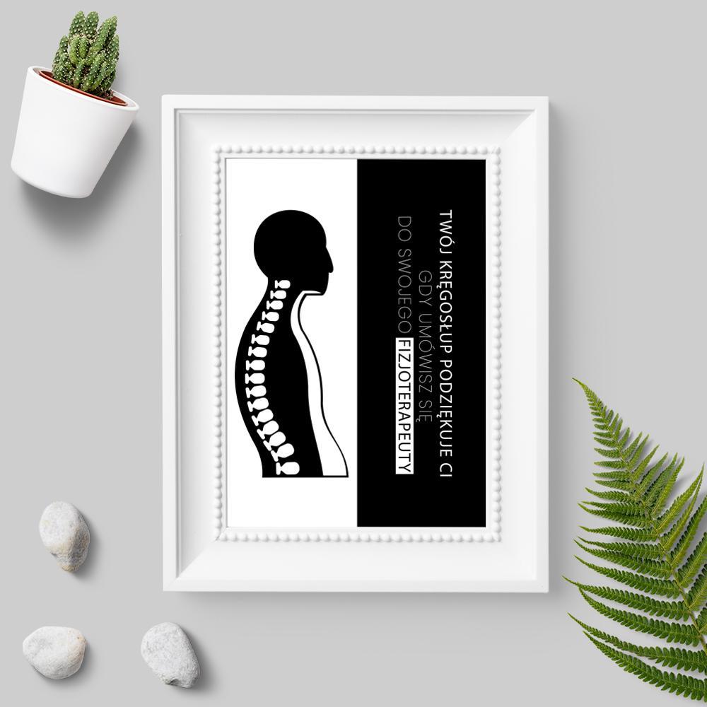 Plakaty dla fizjoterapeutów, rehabilitantów oraz masażystów