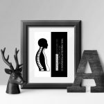 plakat fizjoterapia rehabilitacja masaż