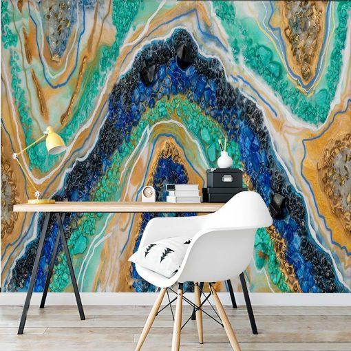 kolorowa abstrakcja - tapeta