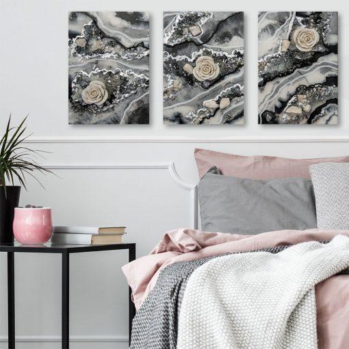 szara abstrakcja jako obrazy
