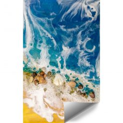 abstrakcja przypominająca morze