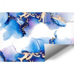 Abstrakcja niebieska jako tapeta