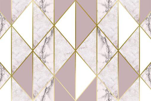 Tapeta ze wzorem marmuru w pastelowych kolorach