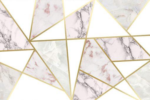 Dekoracja papierowa ze strukturą skały