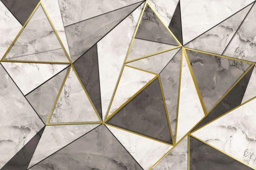Dekoracja papierowa z wzorami marmuru