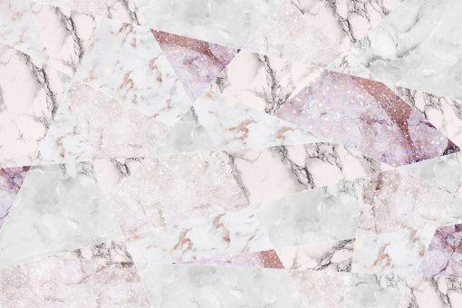 Różowa tapeta w kompozycją tekstur