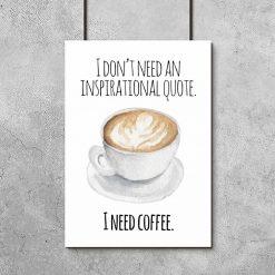 plakat dla kawosza