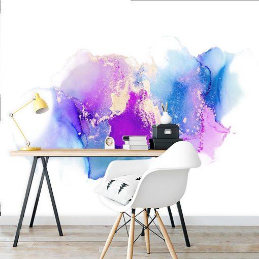 ścienna dekoracja biurowa - fototapeta abstrakcyjna