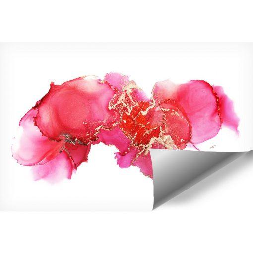 Koralowa akwarela jako dekoracyjna fototapeta