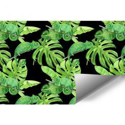 fototapeta z tropikalną roślinnością
