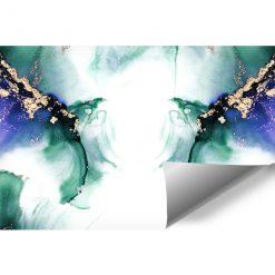 Foto-tapeta z akwarelową abstrakcją