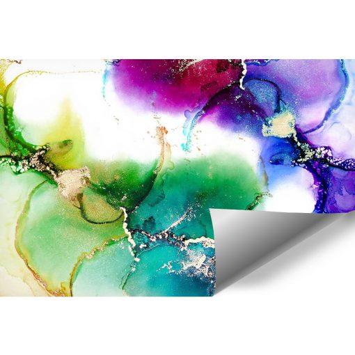 kolorowa fototapeta z plamami