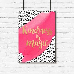 plakat z napisem o życzliwości