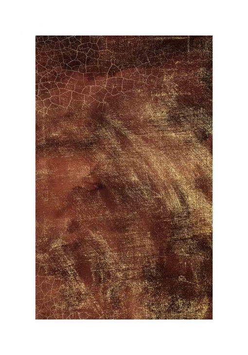 czekoladowa abstrakcja na plakacie