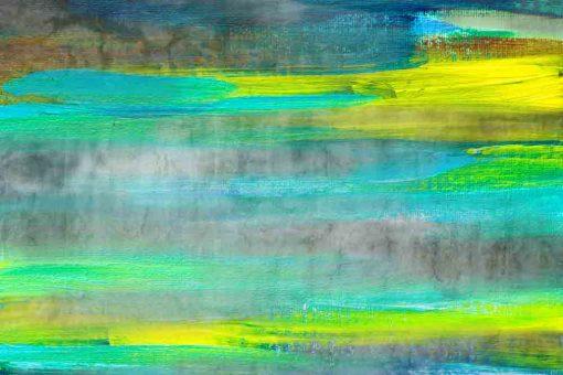 obraz z motywem mazajów farby