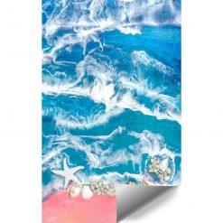 Dekoracja resin sea - fototapeta morze