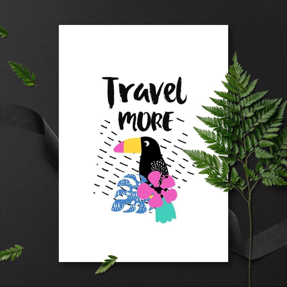 plakat Travel more