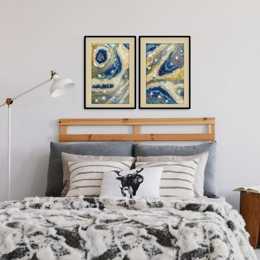 Ozdabianie sypialni obrazami i plakatami żywica epoksydowa