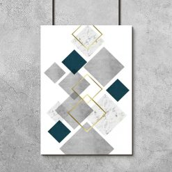 plakat geometryczny