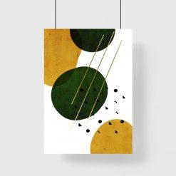 plakat abstrakcyjny
