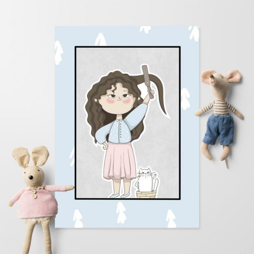 Plakat do pokoju dziecka - Przygotowania do wyjścia