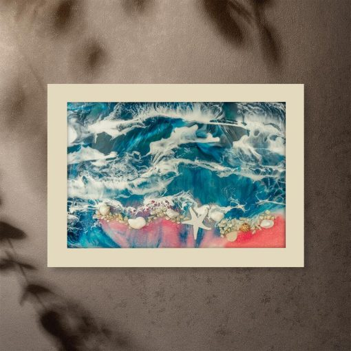 Plakat - Morze i fale do sypialni