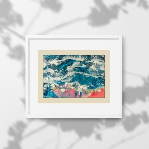 Plakat - Morze i fale do salonu