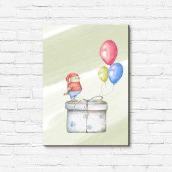 Obraz do pokoju dziecka - Prezencik