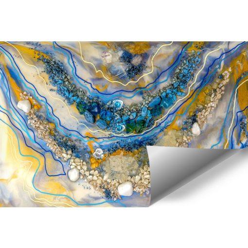 dekoracja ścienna fototapeta reprodukcja sztuka zywicy abstrakcja