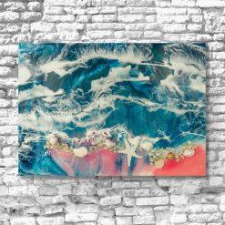 obraz morze reprodukcja malarstwa żywicą