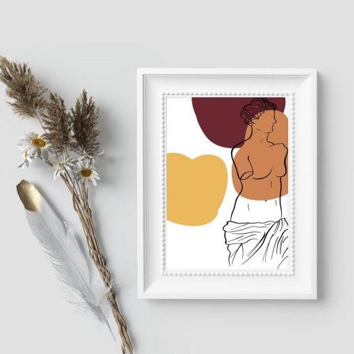 Plakat z Wenus z Milo do biura