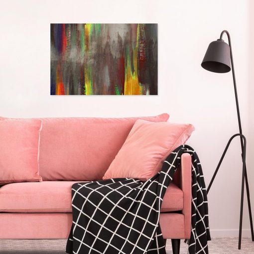 Obraz z abstrakcyjną kompozycją
