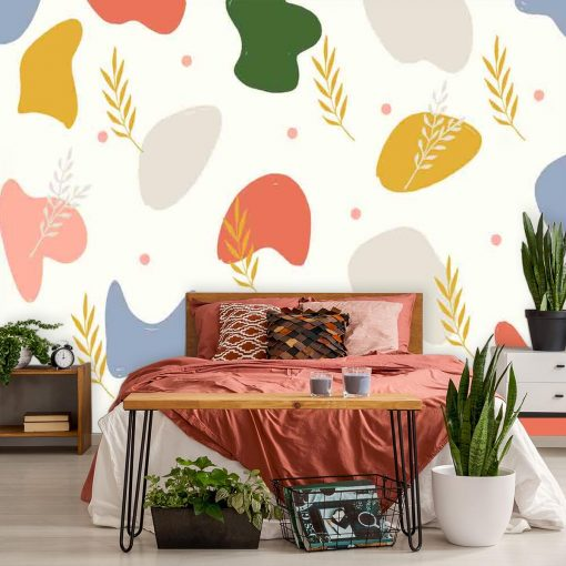Fototapeta do sypialni - Kolorowa abstrakcja