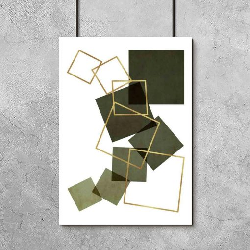 Plakat do salonu - Kwadrat