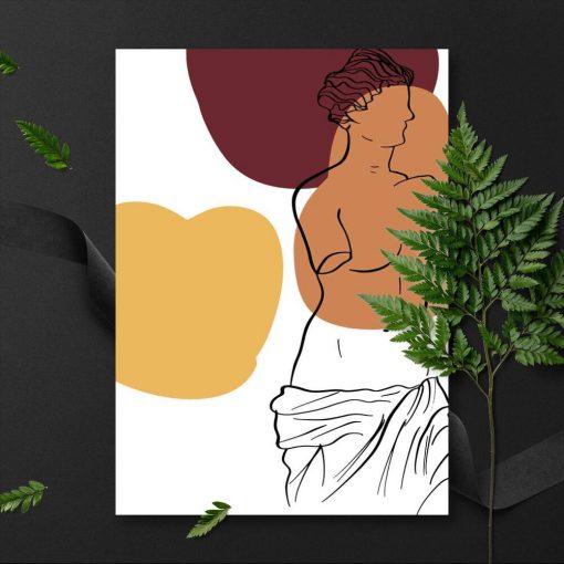 Plakat z Wenus z Milo do przedpokoju