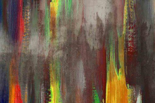 Obraz z abstrakcyjnymi wzorami