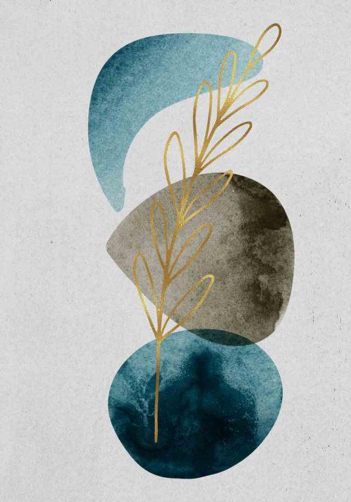 Artystyczny plakat - Roślina