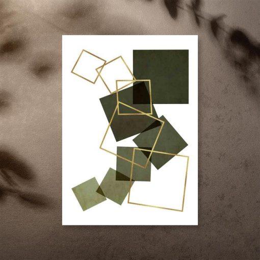 Plakat na przedpokój - Kwadrat