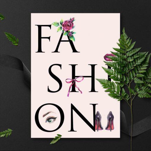 Fashion na plakacie