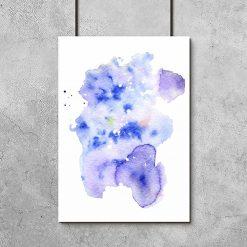 Plakat z abstrakcją do sypialni