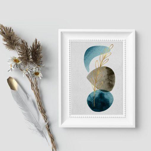 Artystyczny plakat do przedpokoju - Roślina