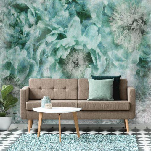 Foto-tapeta botaniczna do pokoju - Wzór orientalny