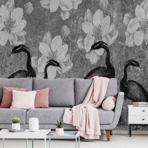 Fototapeta z żurawiami do salonu