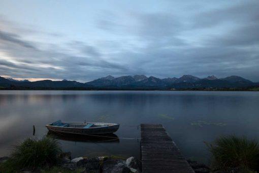 Fototapeta z jeziorem w Bawarii