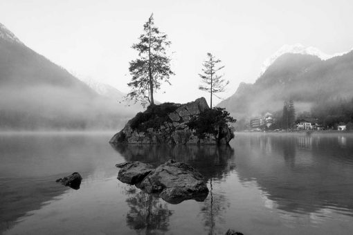 Fototapeta z jeziorem Hintersee