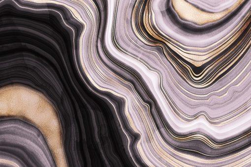 Fototapeta z falistą abstrakcją
